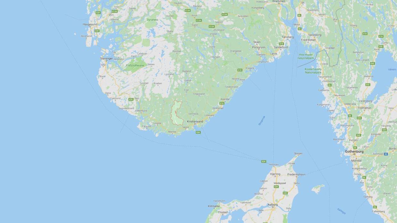 Marnardal Kommune i det sydlige Norge.
