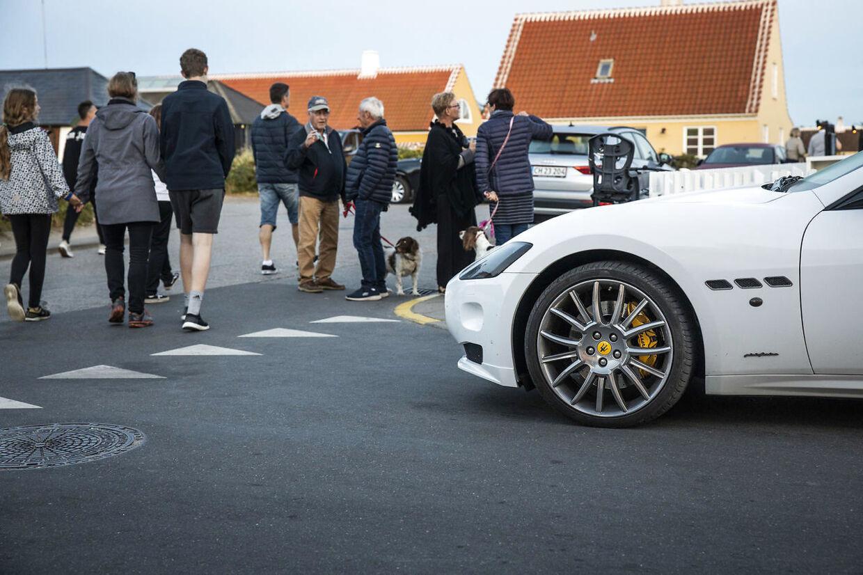 Efter flere dages kontrol af bilister under Hellerup-ugen kan hver fjerde af de kontrollerede bilister se frem til en bøde. (Arkivfoto)