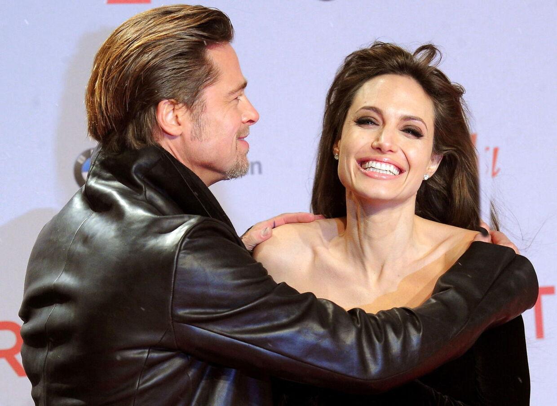 De var engang så tæt. I dag kan Brad Pitt og Angelina Jolie ikke blive enige om ret meget.