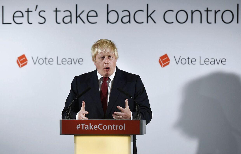 Boris Johnson er storfavorit til at blive Storbritanniens næste Premierminister.
