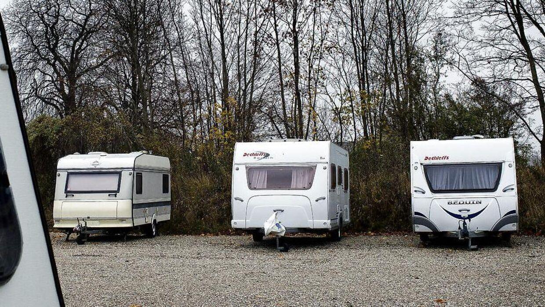 Arkivfoto. En sjællandsk kvinde bliver sigtet for at have udlejet ikke-eskisterende campingvogne til intetanende danskere.