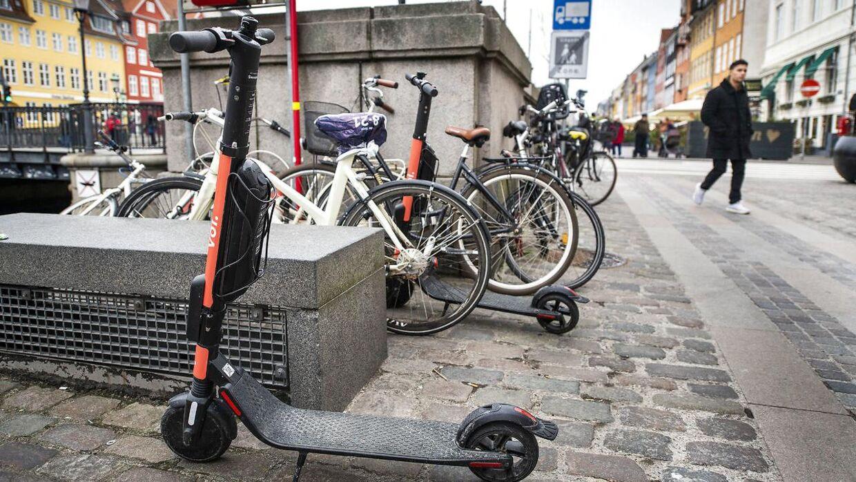El-løbehjul er i flere tilfælde endt i Københavns Havn, oplyser udlejningsfirmaet Voi.