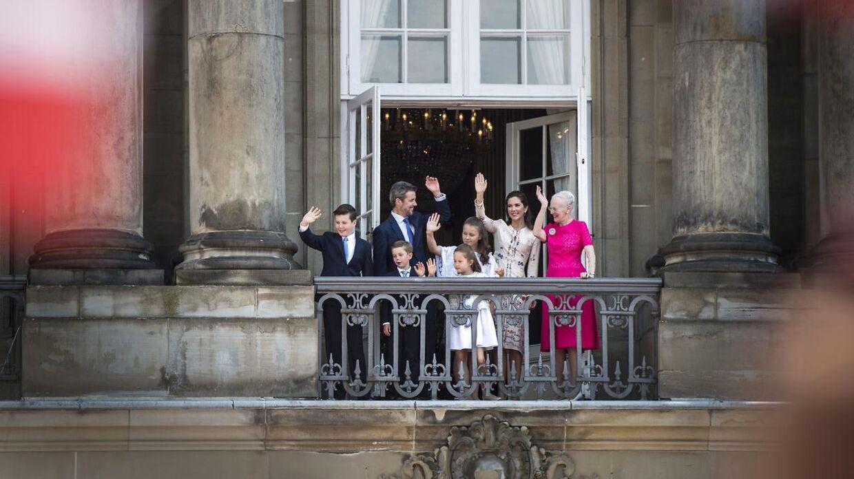 Kronprins Frederik og Mary har sammen fire børn.