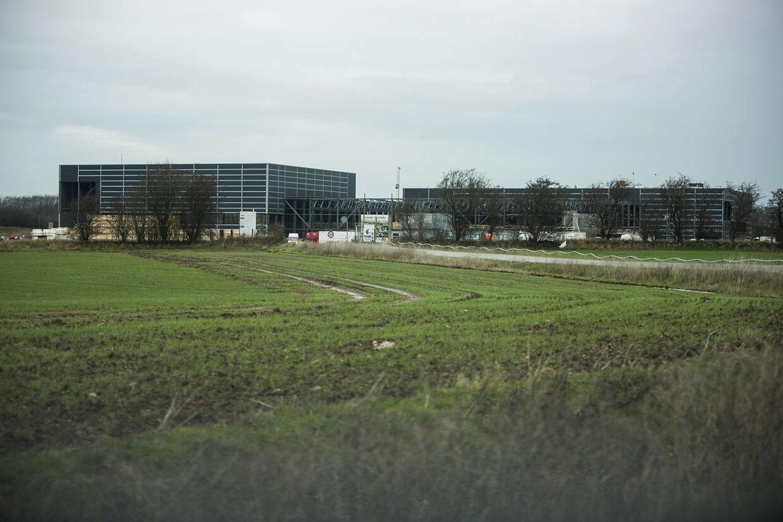 Området, hvor Holbæk Sportsby er blevet bygget. Arkivfoto fra 2017.