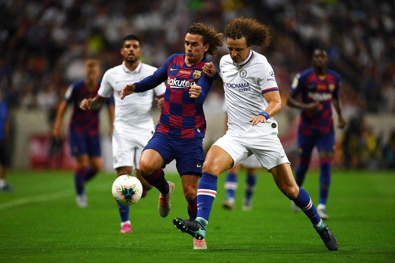 Griezmann spillede i nummer 9 i sin debut. Det nummer tilhører dog Luis Suarez, og Antoine Griezman skal spille med nummer 17 i Barcelona.