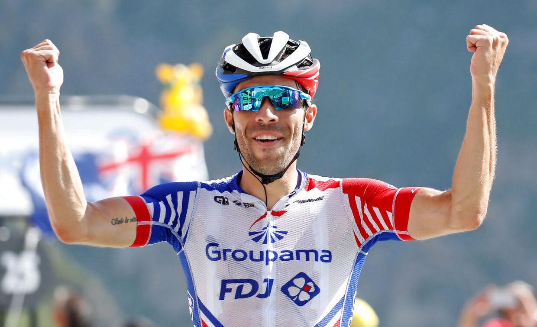 Thibaut Pinot har indtil videre vist sig stærk i bjergene og vandt også på 14. etape med mål på Tourmalet.