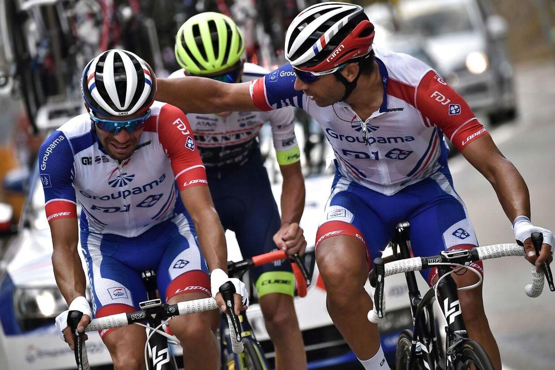 Thibaut Pinot kunne ikke holde tårerne tilbage, da han måtte se virkeligheden i øjnene: Han måtte udgå af Tour de France.