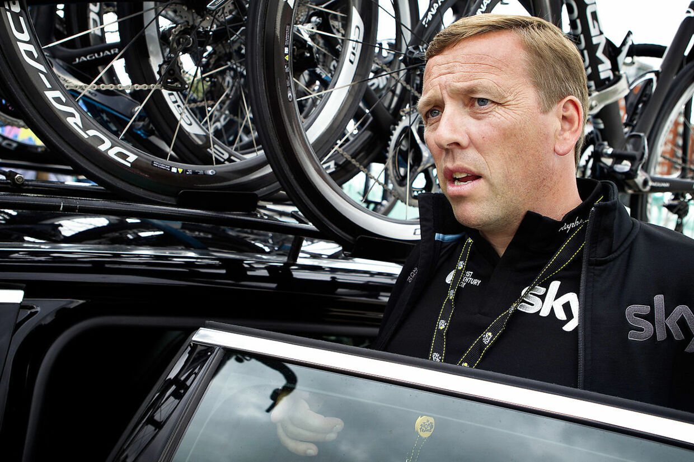 Carsten Jeppesen til Touren i 2014, da Team Ineos hed Team Sky.