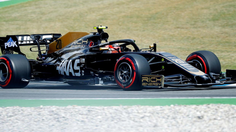 Magnussen i sin racer.