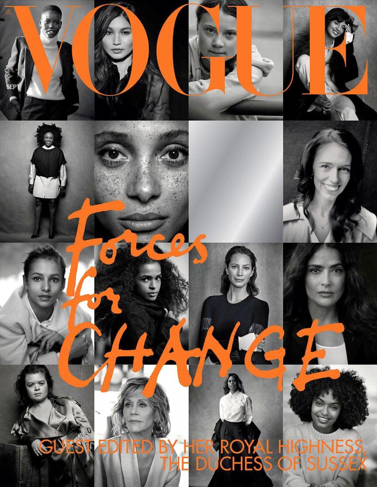 September-udgivelsen har temaet 'Forces for change'.