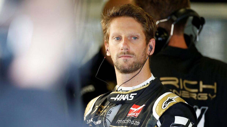 Romain Grosjean og Kevin Magnussen kørte ind i hinanden – igen.