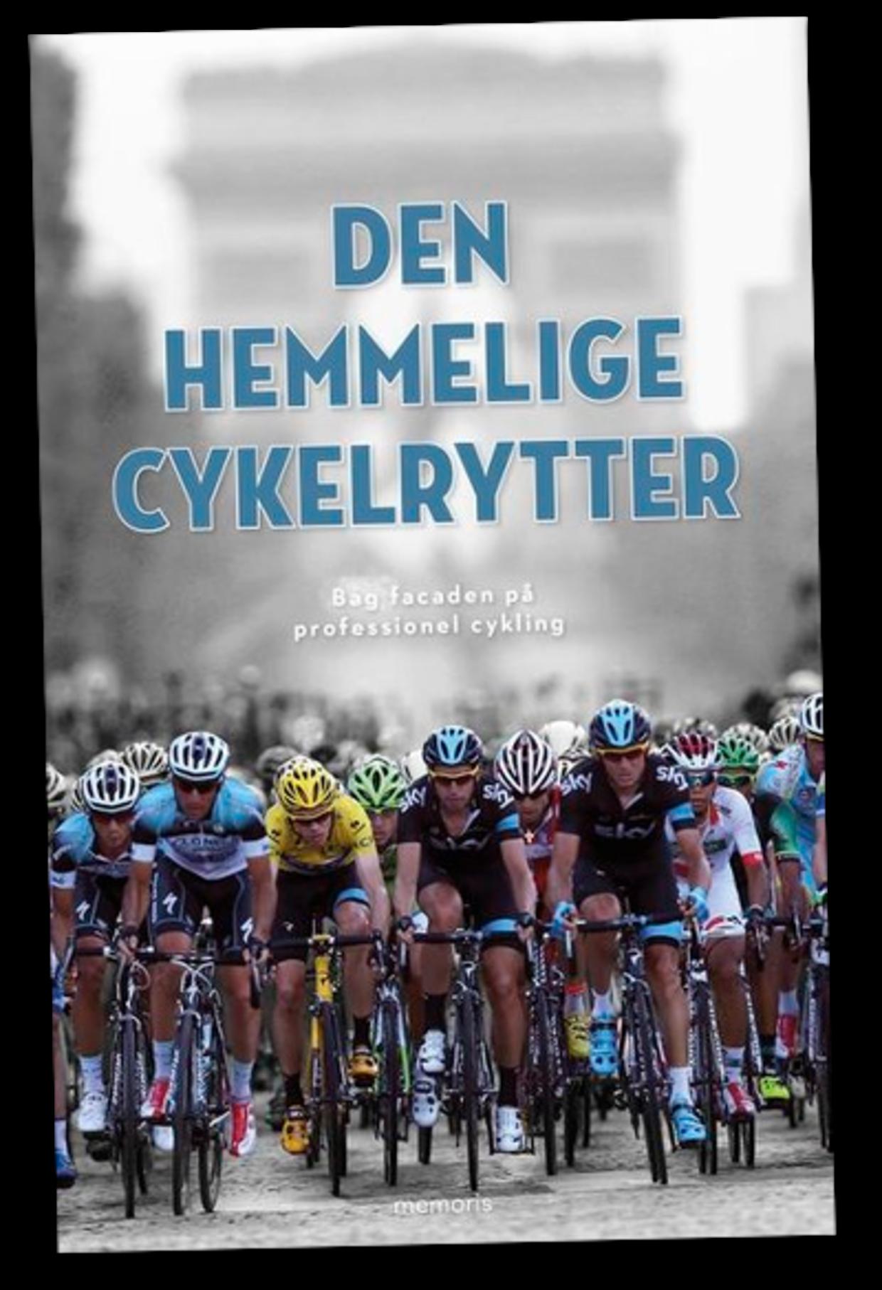 Bogen 'Den hemmelige cykelrytter' udkommer på forlaget Memoris og koster 249,95 kroner.