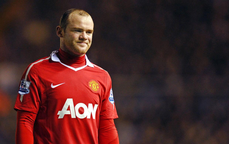 Wayne Rooney spillede, dengang affæren med Jenny Thompson og Helen Wood kom frem, i Manchester United.
