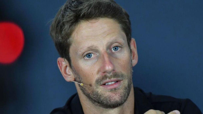 Romain Grosjean er klart den mest pressede af de to Haas-kørere.