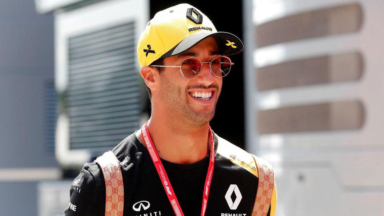 Daniel Ricciardo var ikke tilfreds med Magnussen efter løbet.