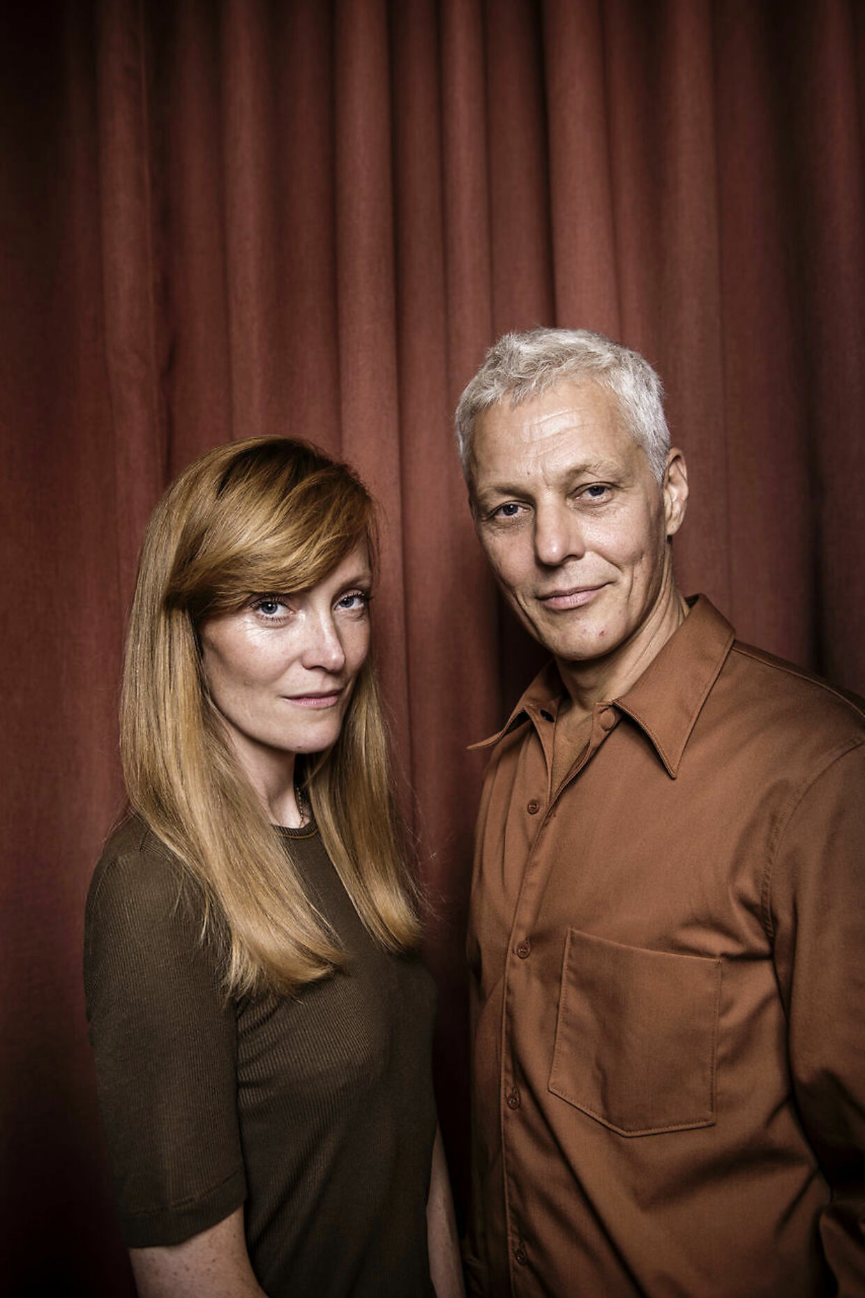 Ægteparret Stine Goya og Thomas Hertz.