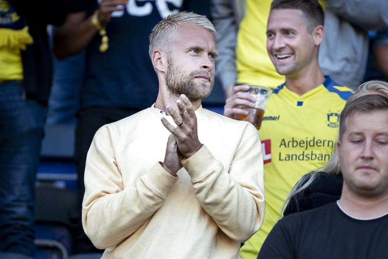 Johan Larsson var tilskuer til Brøndbys Europa League-kvalkamp mod FC Inter Turku.