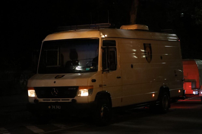 EOD - Hærens Ammunitionsrydningstjeneste - er angiveligt ankommet til Nordhavn.