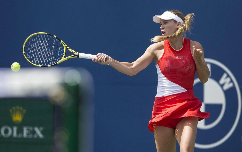 Caroline Wozniacki deltager i denne uge ved Rodgers Cup i Toronto.