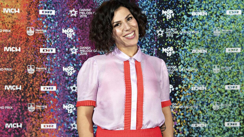 Jasmin Gabay kan både bage og synge. Hun stillede op i årets Dansk Melodi Grand Prix, hvor det i modsætning til i Den store bagedyst ikke lykkedes at erobre en plads i finalen. (Foto: Jens Nørgaard Larsen/Ritzau Scanpix)