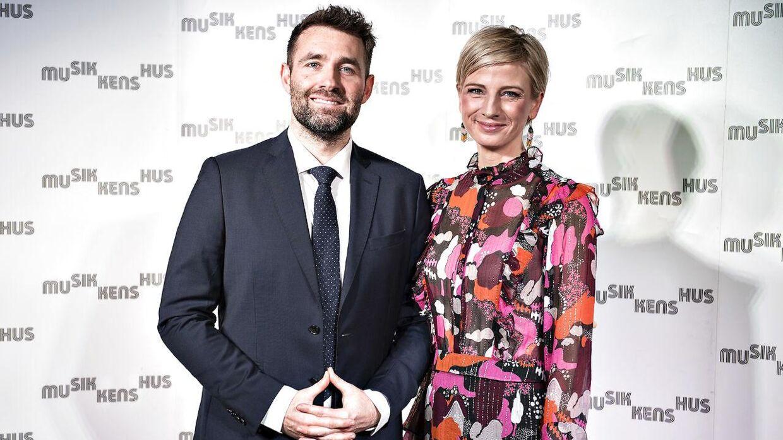 Mikkel Kryger, her sammen med TV 2-kollegaen Louise Wolff i 2018, er normalt vært på Go' Morgen Danmark. (Foto: Henning Bagger/Ritzau Scanpix)
