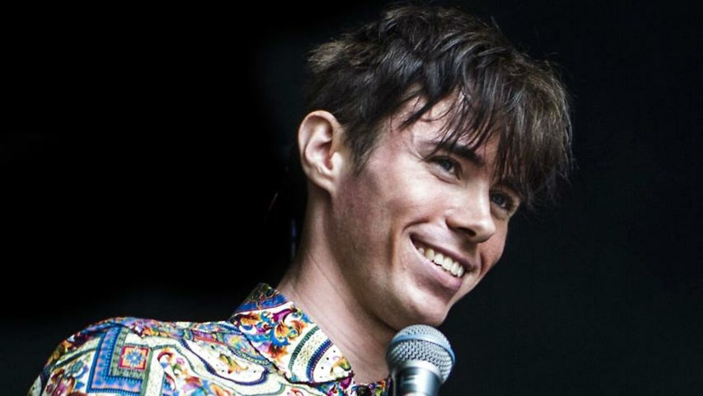 Kristian Kjærlund vandt X Factor 2019 og fik en koncert på Smukfest. Her optræder han på Sherwood scenen.