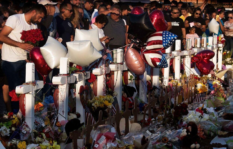 22 omkom, da en hvid racist åbnede ild i et supermarked i El Paso i den amerikanske stat Texas.