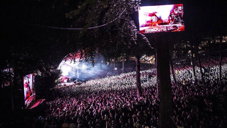 Nik & Jay på Bøgescenerne på Smukfest fredag den 9 .august 2019.