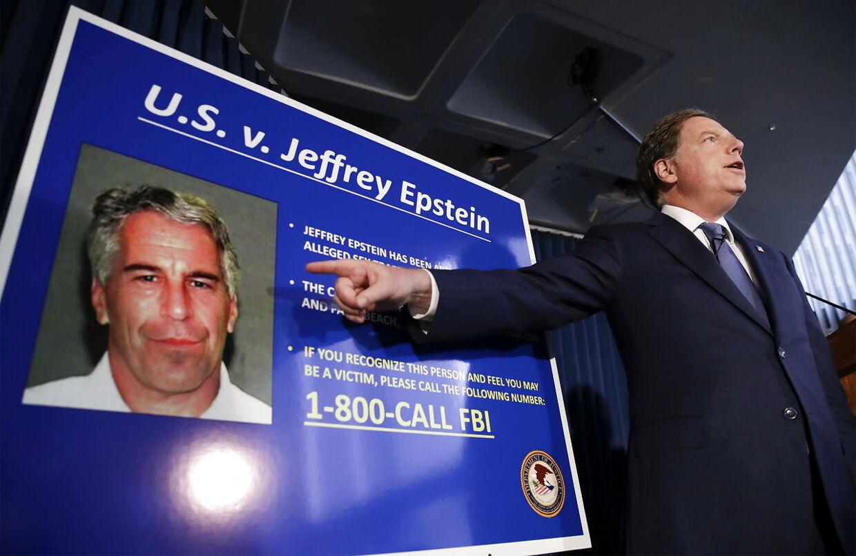 Jeffrey Epstein var under anklage for menneskehandel og overgreb mod adskillige mindreårige piger. Arkivfoto