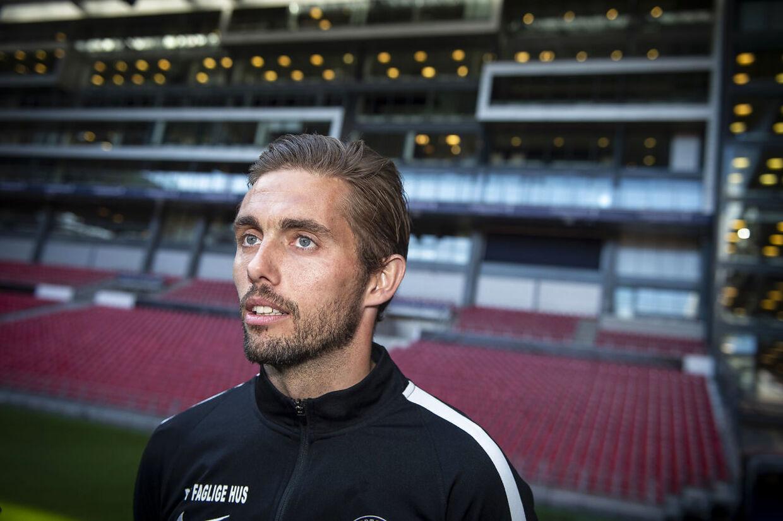 Jakob Poulsen vandt i sidste sæson pokalfinalen med FC Midtjylland efter sejr over Brøndby.