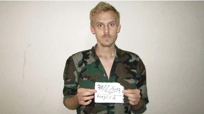 ARKIV: Her ses freelance-fotografen Daniel Rye Ottosen, der blev holdt som gidsel i 13 måneder.