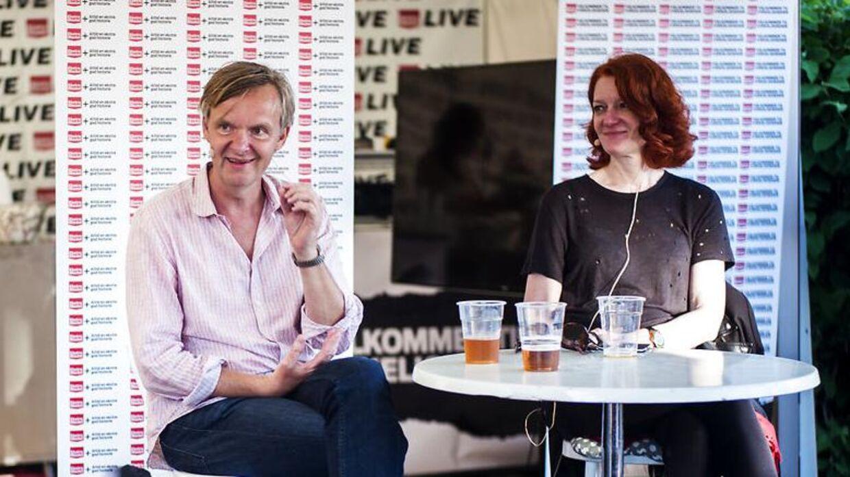 Poul Madsen og Karen Bro. Arkivfoto.