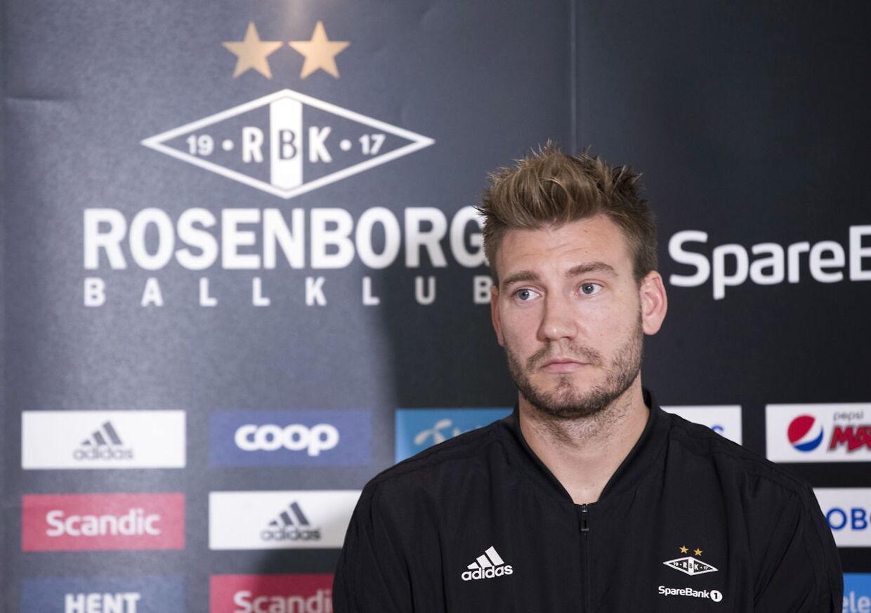Nicklas Bendtner skal videre fra Rosenborg. Måske til Italien?