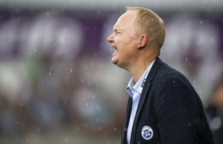 Sønderjyskes cheftræner Glen Riddersholm.