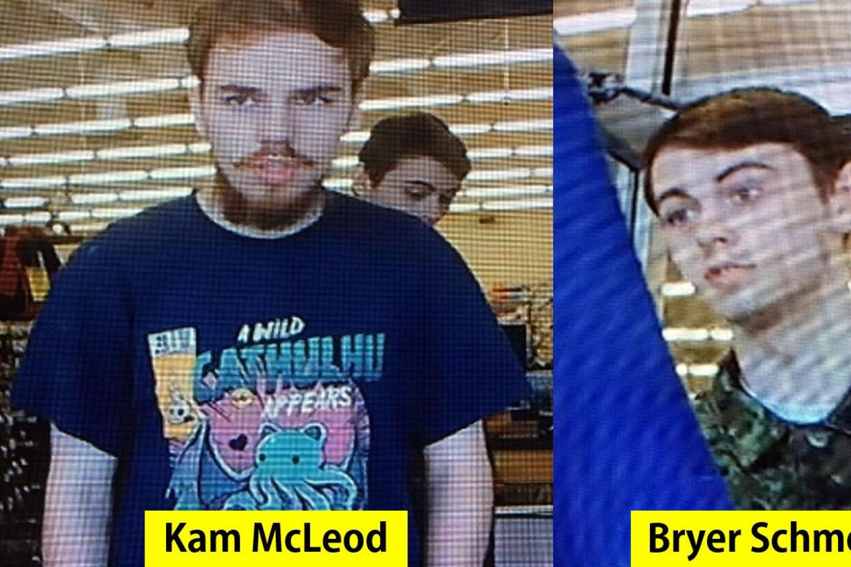 To canadiske teenagere blev efter en lang menneskejagt fundet døde i sidste uge. Nu slår retsmedicinere fast, at de havde begået selvmord med skydevåben. (Arkivfoto). -/Ritzau Scanpix