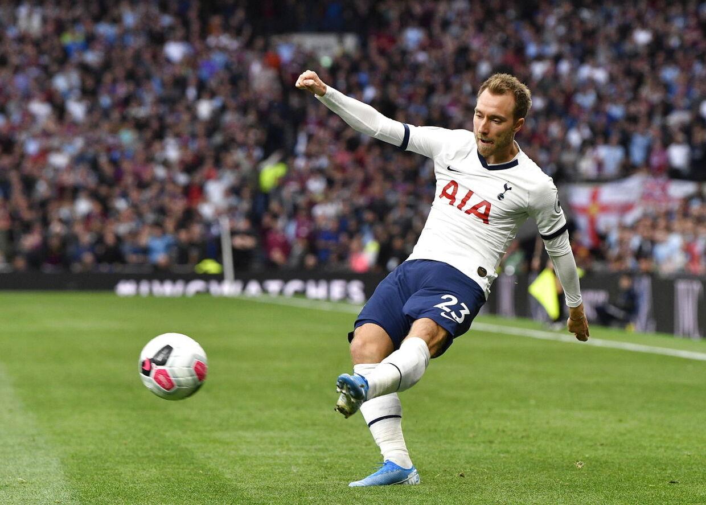 Christian Eriksen startede ikke inde mod Aston Villa ved Premier League-åbneren, men fik dog minutter i benene.