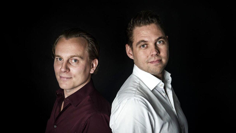 Peter Ladegaard og Frederik R. Petersen stifterne af Easytranslate.