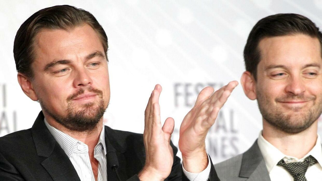 Leonardo Dicaprio (tv.) og Tobey Maguire (th.)