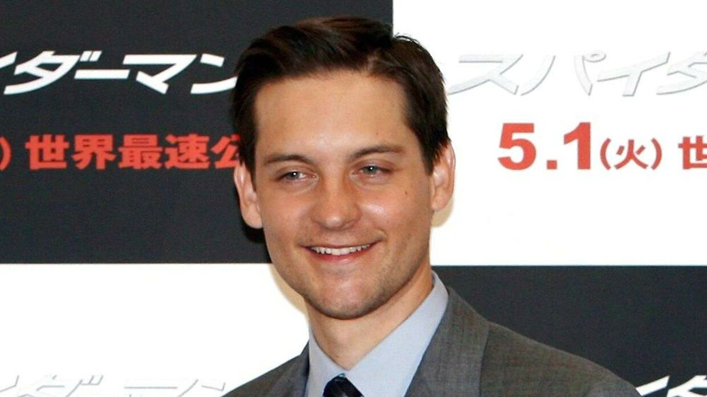 Tobey Maguire til premieren på 'Spiderman 3' i Tokyo.
