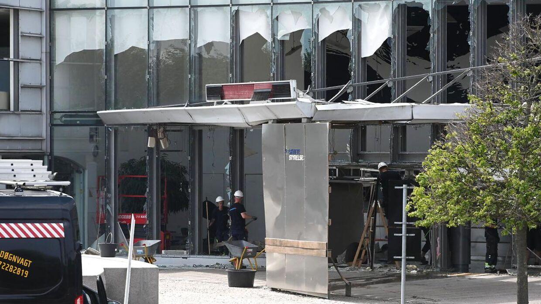 Skattestyrelsen efter eksplosion i København, onsdag den 7. august 2019. (Foto: Philip Davali/Scanpix 2019)