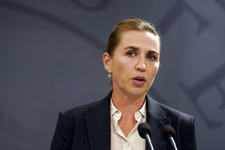 Selv om der er nok at tage fat på for Mette Frederiksen som statsminister – her ved pressemødet onsdag om eksplosionerne i København – har hun haft optimale betingelser for at komme i gang i embedet.