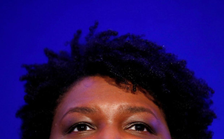 Stacey Abrams er klar tilat blive USAs første sorte, kvindelige vicepræsident.