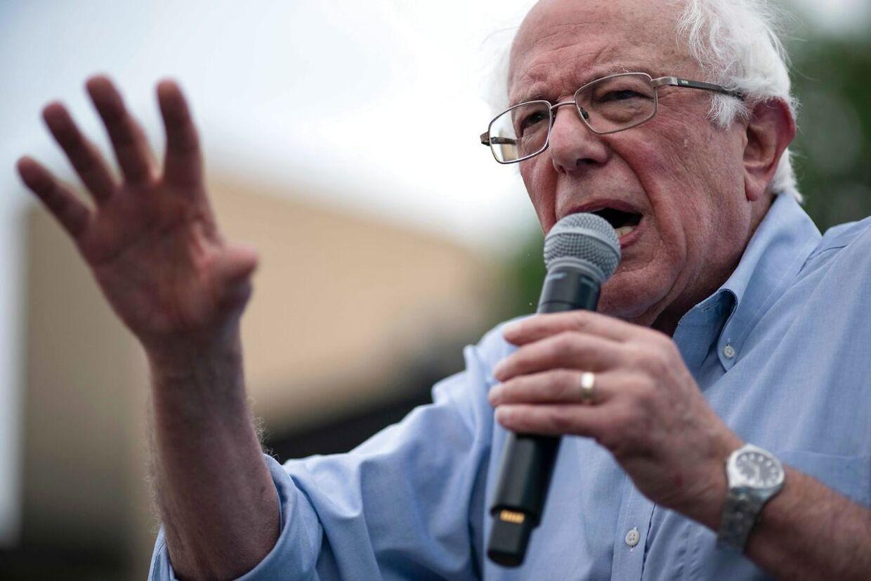 Senator Bernie Sanders er én af de præsidentkandidater, der angiveligt allerede har holdt møde med den potentielle vicepræsidentkandidat Stacey Abrams.