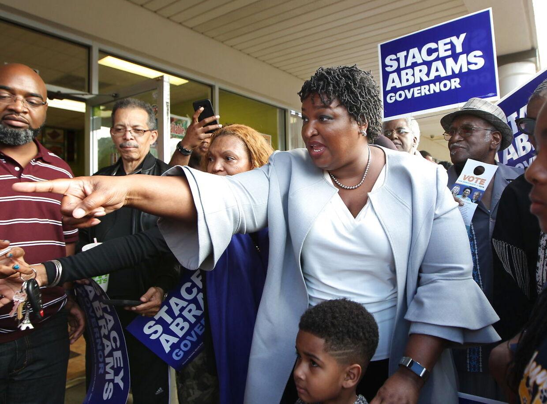 Sej modstander. Her siger Stacy Abrams lige, hvad hun mener under guvernørvalget i Georgia i 2018.