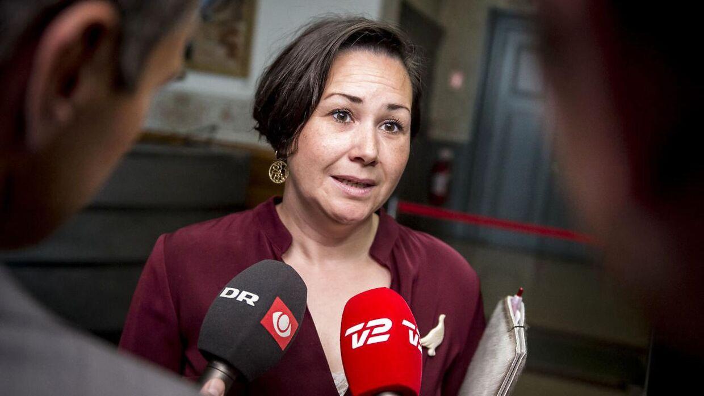 Aaja Chemnitz Larsen fra det grønlandske Inuit Ataqatigiit.