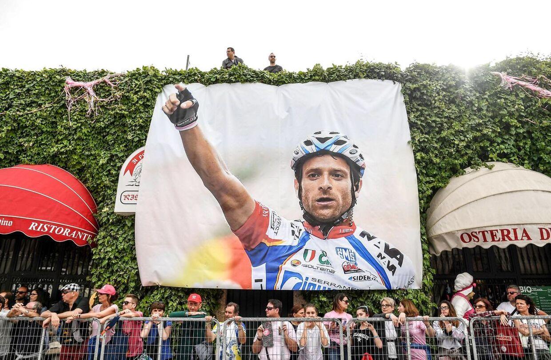 Michele Scarponi omkom under en træningstur i 2017.
