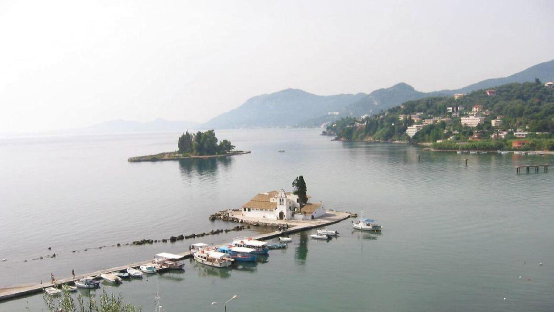 Genrefoto fra øen Corfu.