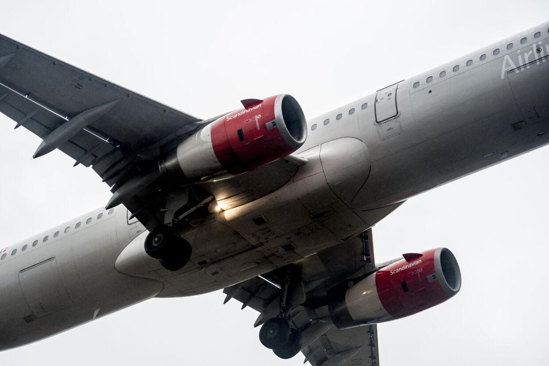 Et passagerfly fra SAS måtte lørdag sikkerhedslande. (Arkivfoto). Mads Claus Rasmussen/Ritzau Scanpix