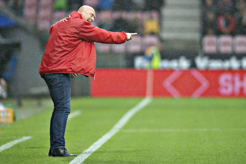 Hobro IK's cheftræner Peter Sørensen.