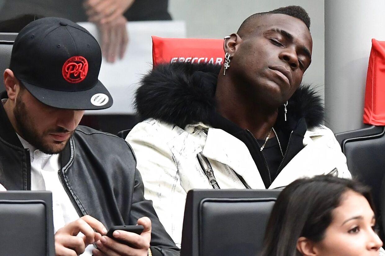 En Serie A-kamp mellem AC Milan og Atalanta i april kunne ikke få pulsen op hos Mario Balotelli.
